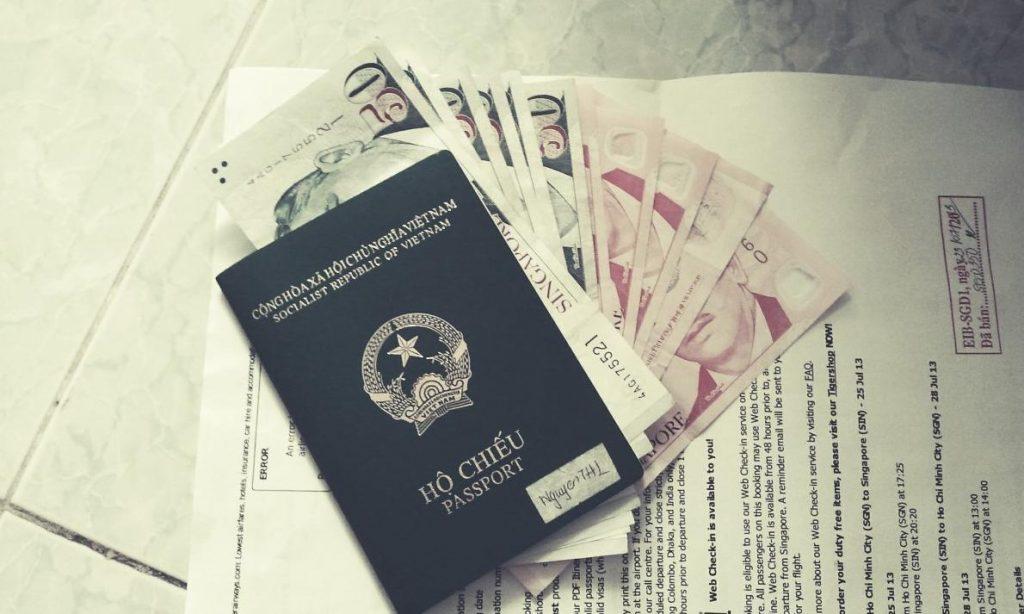 Chuẩn bị visa đi đánh hàng Quàng Châu