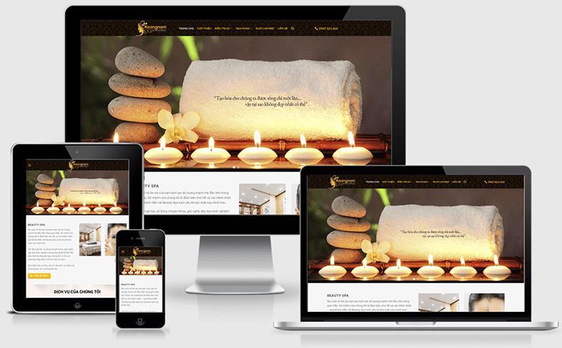 tính năng cần có trong thiết kế website spa