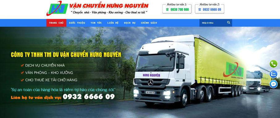 Công ty vận tải hàng hóa Hưng Nguyên