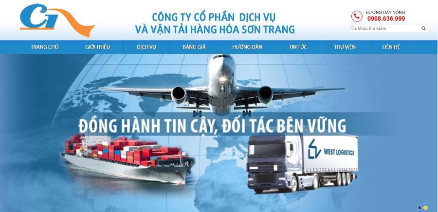 Đơn vị vận chuyển hàng hóa Sơn Trang
