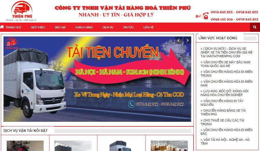 Công ty vận tải Bắc Nam Thiên Phú