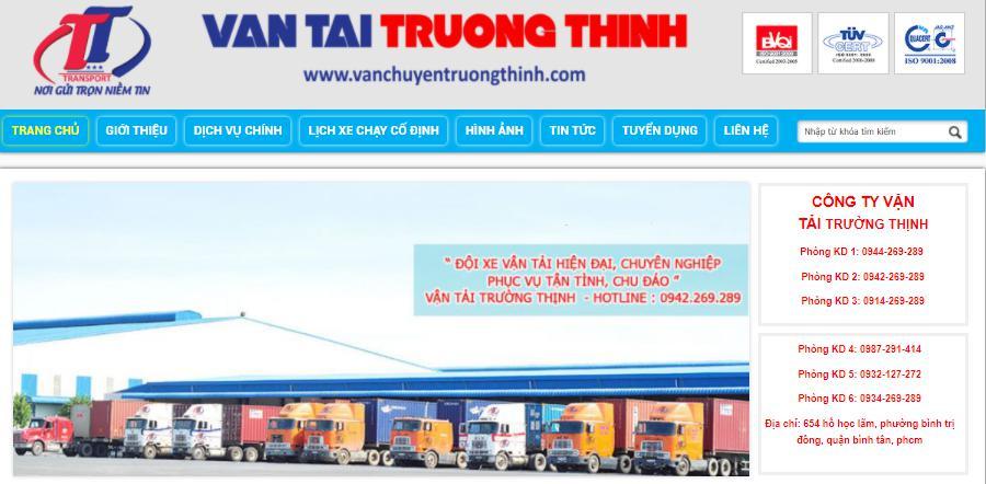 công ty vận tải hàng hóa Trường Thịnh