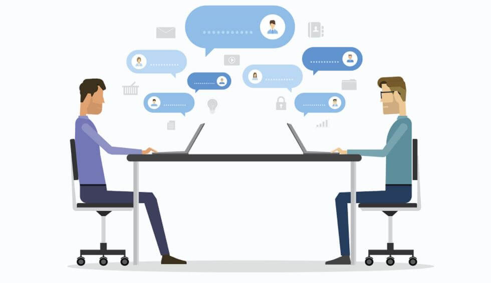 tương tác với khách hàng