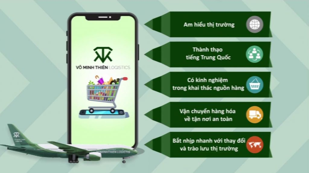 Đơn vị vận chuyển Trung Quốc giá rẻ Võ Minh Thiên Logistics