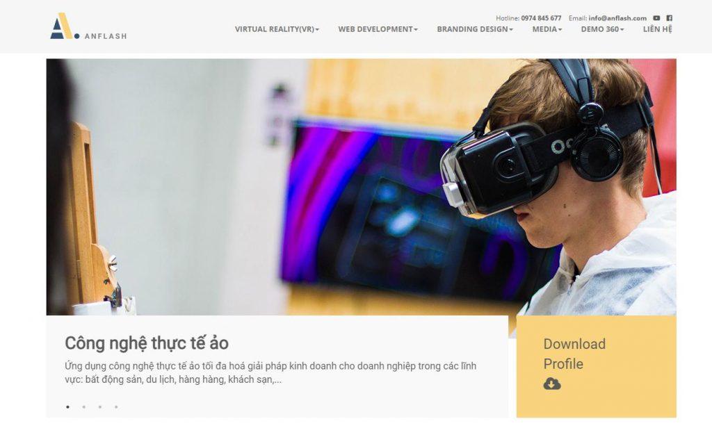Anfkash:Công ty chụp hình 360 độ, tham quan tour ảo