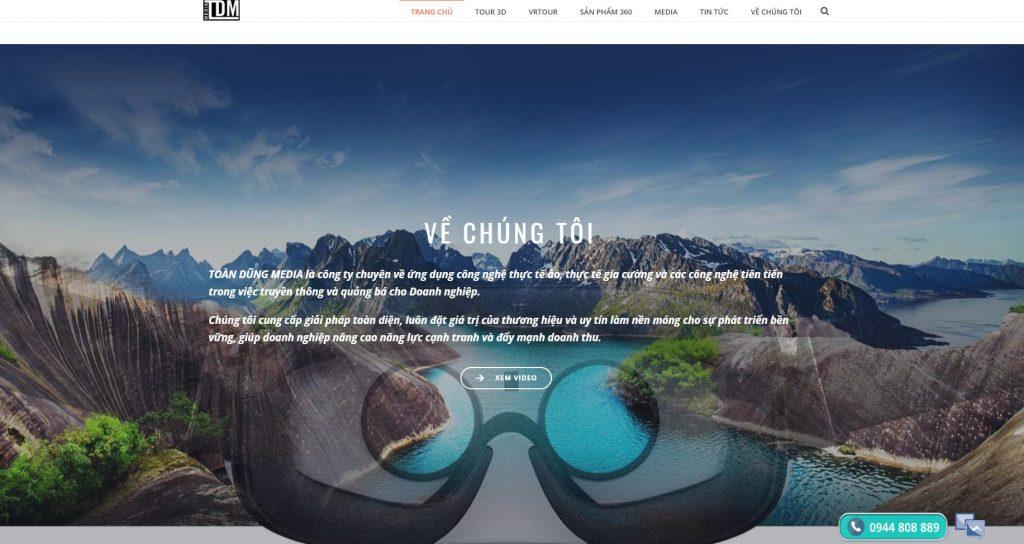 Toàn Dũng media: Công ty ứng dụng thực tế ảo, chụp hình 360 độ hàng đầu
