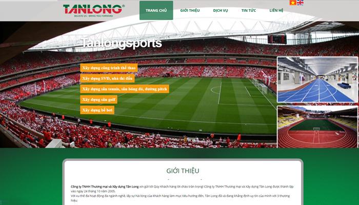Đơn vị thi công sân thể thao - Tân Long