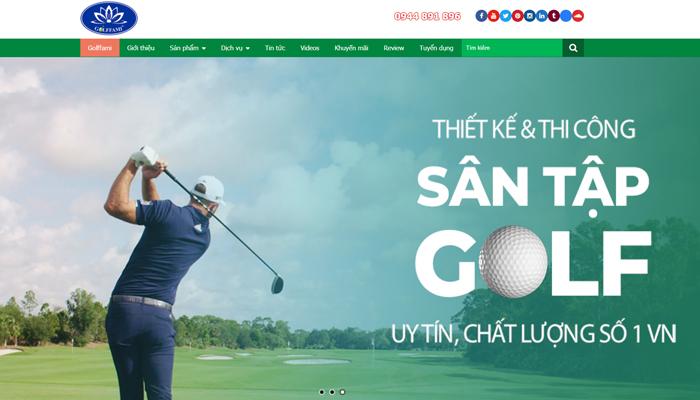 Đơn vị thiết kế thi công sân tập golf - Golffami